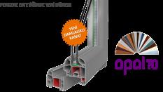 Opal 70 PVC Pencere Serisi